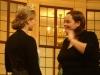 Victoria I. fachsimpelt mit Annick Hermann